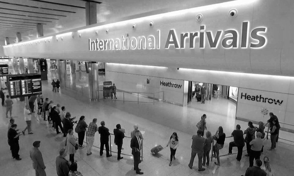 Heathrow International Airport, London